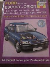 Ford (essence) Escort & Orion manuel d'entretien et réparation auto/ Haynes