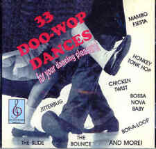 33 DOO WOP DANCES - CD - For Your Dancing Pleasure - BRAND NEW