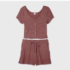 Colsie Pajama Sets Rose M NWT