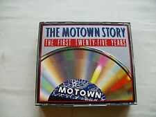 Various – The Motown Story - The First Twenty-Five Years  1986  3 CD Set