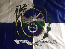 Flag Brazil Rio De Janeiro Large Printed 128cm X 90cm