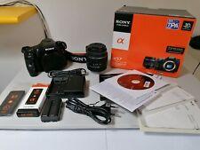 Sony A57 Kit + Batteria + Telecomando