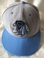 NHL Chicago Blackhawks SnapBack Ball Cap New Era Adjustable Excellent