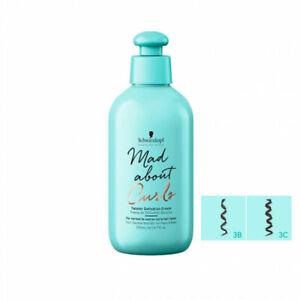 Schwarzkopf Mad About Curls Twister Definition Cream 200ml Hair Style Salon