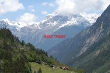 PHOTO  SWITZERLAND 2006 WASSEN VIEW DOWN RHUSS VALLEY