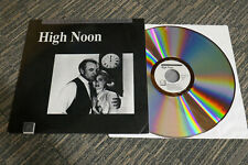 HIGH NOON - THE CRITERION COLLECTION  Original 1989 Laserdisc NTSC EX
