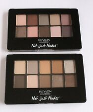 NEW Lot of 2 Revlon Colorstay Not Just Nude Palette 01 & 02