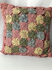 Adorable Red Pinwheel Pillow Sham