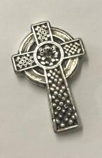 """3 унций (примерно 85.05 г.) Mk barz """"Все Святые Кельтский крест"""" рукой, налил .999 тонкая серебряная"""