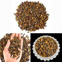 Tiger Eye Crystal Chip Dust Natural Raw Rough Reiki Healing Stones