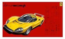 Fujimi 12363 RS-76 1/24 Scale Model Sport Car Kit Ferrari Dino 206 GT Berlinetta