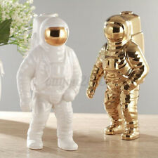 Ceramic Flower Planter Vase Space Man Sculpture Astronaut Cosmonaut Home