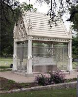Grave of Confederate General Albert Sidney Johnston in Austin Texas Photo Print