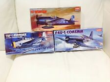 Academy 1:72 CORSAIR/HELLCAT/AVENGER Military Aircraft model Kits 2121-1651-1657