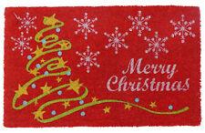 Coir Doormat | Rubber Backed | Christmas Mat | Indoor&Outdoor | Eco-Friendly Mat