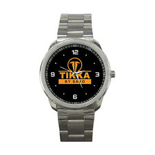 Tikka T3 Logo Sako Finland Shot Gun Rifle Hunting Trap Skeet Sport Metal Watch