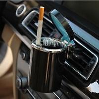 KFZ Auto Aschenbecher LED Blaue Licht Beleuchtung Gluttöter Kippentöter Neue