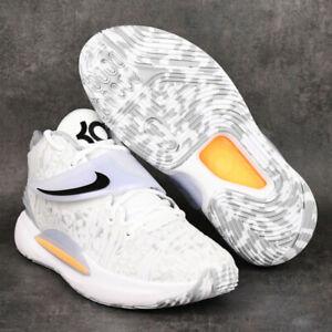 Nike Zoom KD 14 Home White Black CW3935-100 KD14 Basketball Shoes Sneakers
