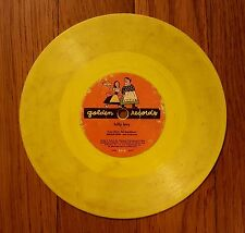 GOLDEN RECORDS YELLOW 45's Lot of 2 CHILDREN'S Songs Billy Boy Sea Chanty 1950