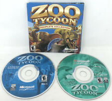 Zoo Tycoon Complete Collection (PC,2003) 2 Disc Set *RARE* ~ FREE FAST SHIPPING