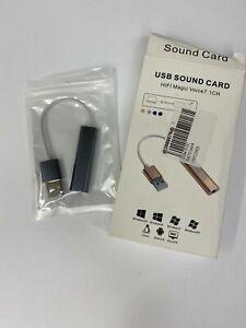 USB Sound Card HIFI Magic Voice 7.1CH