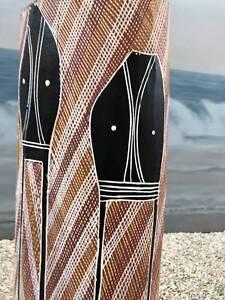 aboriginal burial pole -Arnhemland