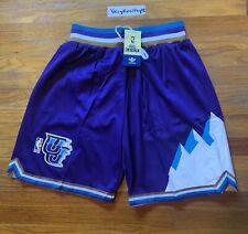 Utah Jazz NBA Shorts Men's Medium Purple