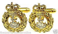 Royal Navy Chief Petty Officer Cufflinks