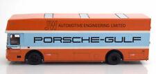 Schuco 1968 Porsche Race Transporter 0317 Porsche Gulf 1:43 Extremely Rare Find!