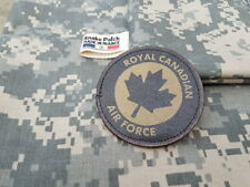 SNAKE PATCH - ROYAL CANADIAN AIR FORCE RCAF - BASSE VISIBILITE OD canada Québec