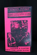 Eric Clapton VHS Live George Harrison 1991 From Japan Tokyo Dome Homemade Video