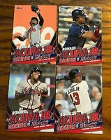 2020 Topps Update Ronald Acuna Highlights - 4 Different Cards