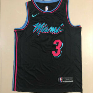 Summer Jerseys Basketball Uniform Tops Jerseys City Edition Swingman Jersey Basketball Jersey-Pay tribute to idol Men/'s Womens Jersey Dwayne Wade #3 Miami Heat Youth Basketball Mesh Jersey