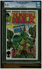 INCREDIBLE HULK ANNUAL #14 CGC 9.8 WHITE PAGES 1985 JOHN BYRNE COVER BLUE LABEL