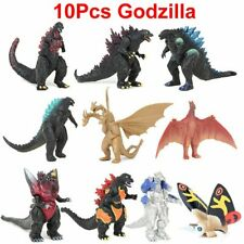 10Pcs Godzilla 2 King Ghidorah Mothra Anguirus Figures Model Statue Kid Toy Xmas