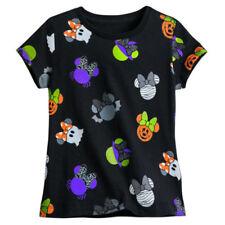 Magliette, maglie e camicie nere Disney per bambine dai 2 ai 16 anni 100% Cotone