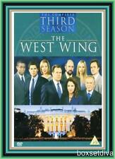 THE WEST WING - COMPLETE SEASON 3 - THIRD SEASON *BRAND NEW DVD*