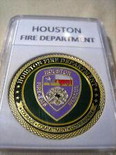HOUSTON Fire Dept. Challenge Coin