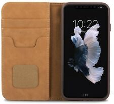 Moshi Overture Vegan Leather Wallet Case for iPhone X (Brown)   MV967