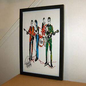 The Beatles Lennon McCartney Harrison Starr Music Print Poster Wall Art 11x17