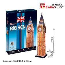 3d Puzzles Big Ben Large Model DIY Cardboard Jigsaw Puzzle C094H