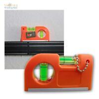 Wasserwaage Wasserwaagen Pocket Mini Wasserwaage Präzisionswaage Magnet & Clip