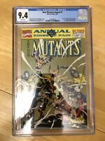 New Mutants Annual #7 CGC 9.4 WP NM Marvel 1991 Mike Mignola Cover Last Issue