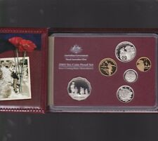 2005 Australia Proof Coin Set in Folder with outer Box & Certificate