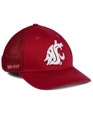 ddf7776c95a NWT New Washington State Cougars Nike Mesh Flex Fit Hat Cap
