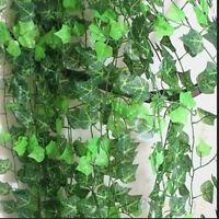 Lierre artificiel feuille  plante vigne faux salle de décor de bougainvilliers