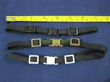 "1/6 Scale Set of 3 pcs Elastic Band Belt Strap Buckle for 12"" Action Figure BBW"