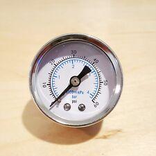 "Marshall 0-60 PSI 4 Bar kPA Gauge Fuel Oil Pressure Gauge 1.5"" Dia. 1/8"" NPT DRY"