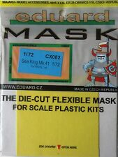Eduard 1/72 CX082 Canopy Mask for the Revell Sea King Mk 41 kit