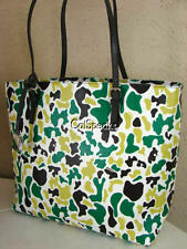 NEW  FURLA D LIGHT TONI VERDE SAFFIANO LEATHER TOTE BAG~MADE IN ITALY